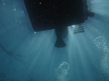 Boat From Below